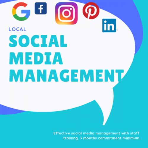 local social media management