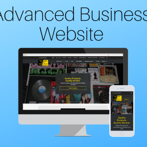 Advanced Business Website