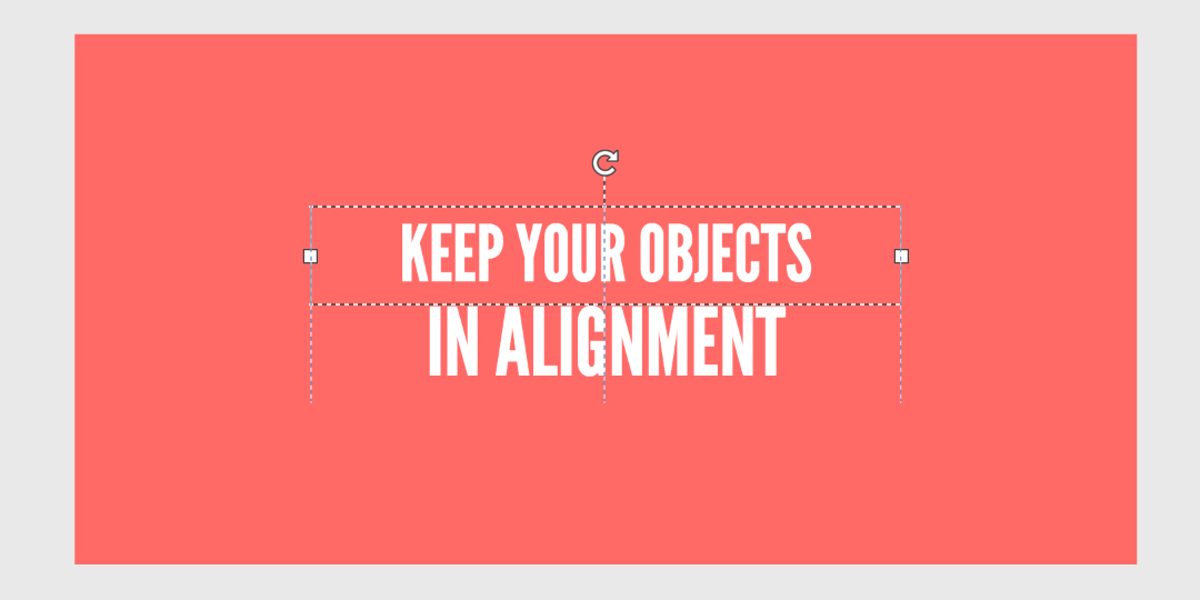 Align objects
