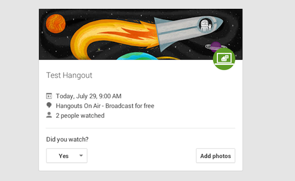 hangouts on air |  Tips and Tricks On Anything But Net |